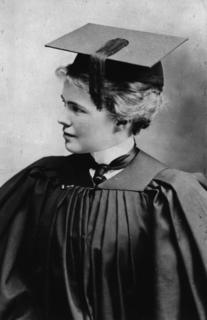 Emily Barringer around the time of her graduation, ca. 1901