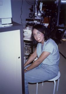 Patricia E. Bath at the Laser Medical Center of West Berlin, 1986