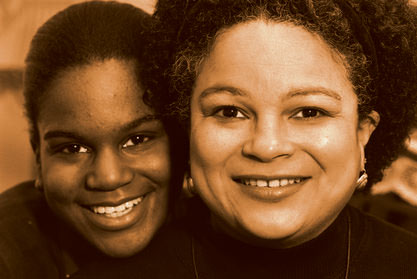 JudyAnn Bigby with her daughter, Naima