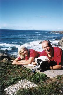 Frances K. Conley, enjoying retirement with her husband Phil on the west coast, 2001