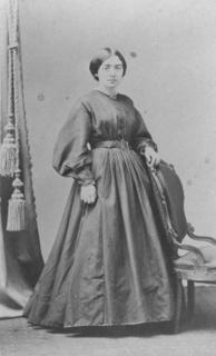 Mary Putnam as a medical student, early 1860s