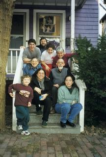 Perri Klass and her family, 2000
