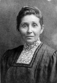 Susan La Flesche, early 1900s, when she returned to the Omaha Reservation