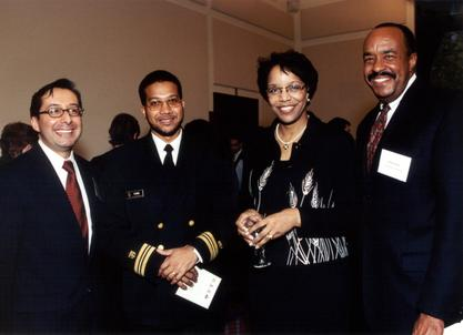 Joan Y. Reede at the Commonwealth Fund/Harvard University Fellowship reception with alumni fellows, 2002