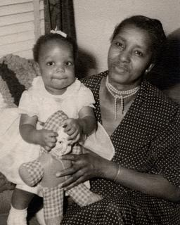 Joan Y. Reede with her grandmother Alice Bacon (