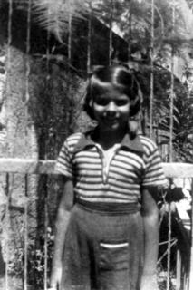 Helen Rodriguez-Trias as a young girl, 1940s