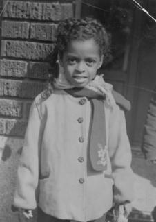 Barbara Ross-Lee at 8 years old, 1950