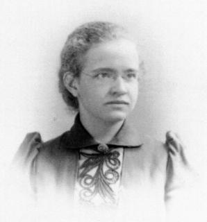 Florence Sabin in 1893, the year she graduated from Smith College
