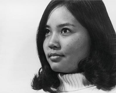 Linda Shortliffe during college, early 1970s