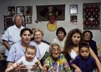 Lori Arviso Alvord (rear, center) with five generations of her family