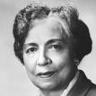Full face photograph of Dr. Dorothy Boulding Ferebee