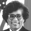 Full face photograph of Dr. M. Joycelyn Elders wearing glasses.